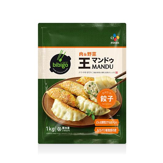 bibigo 王マンドゥ 肉&野菜 1kg