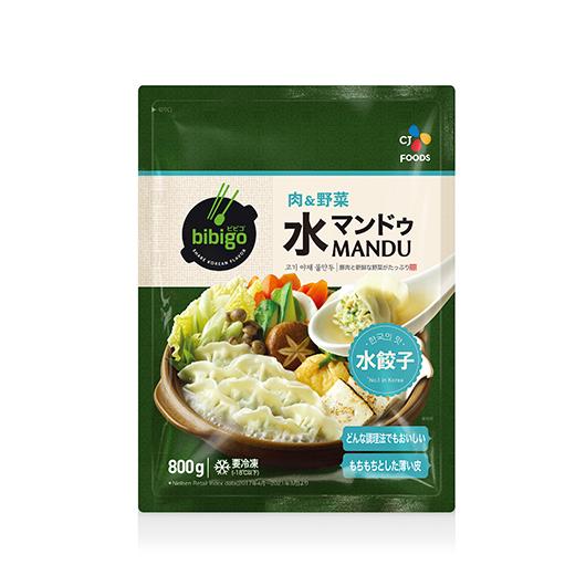 bibigo 水マンドゥ 肉&野菜 800g